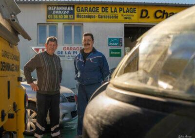 Garage de la plage